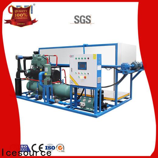 CBFI auto scotsman cm3 ice machine customized for vegetable storage