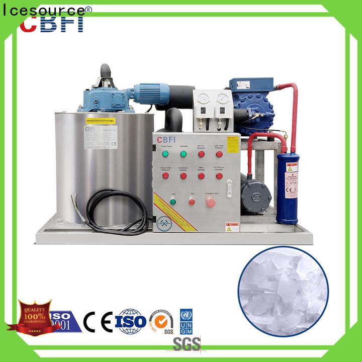 CBFI durable flake ice making machine certifications for aquatic goods