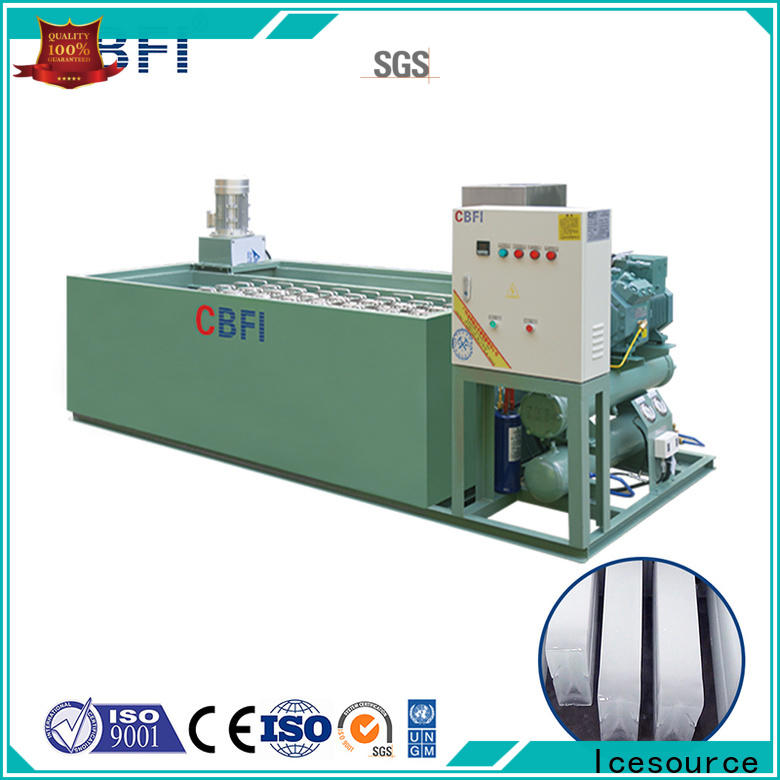 CBFI mini ice maker bulk production for summer