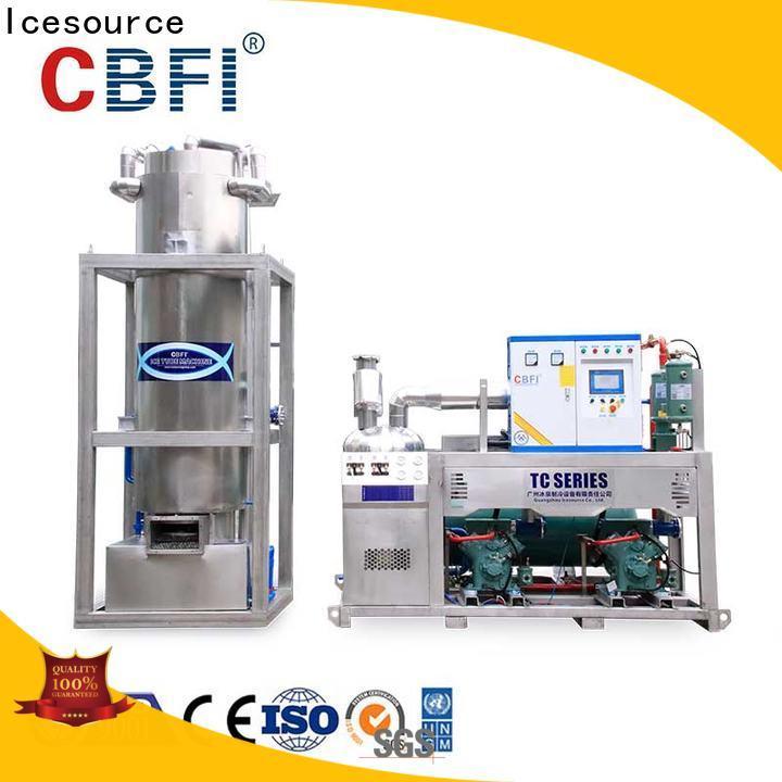 CBFI widely used ice block machine free design for aquatic goods
