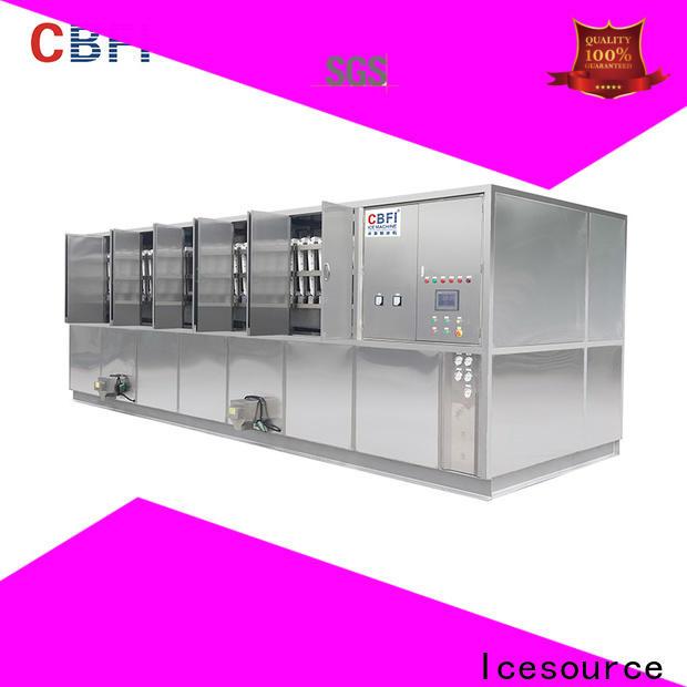 CBFI large ice cube maker machine free design for vegetable storage