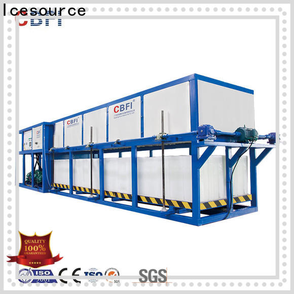 CBFI large capacity built in ice machine supplier for freezing