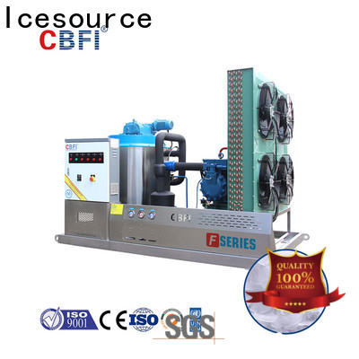 CBFI ton flake ice machine long-term-use for supermarket