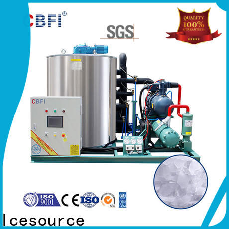 CBFI machine flake ice machine commercial order now for cooling use