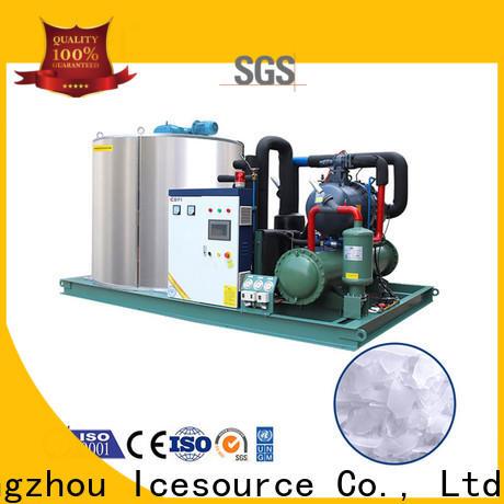 CBFI per industrial flake ice machine certifications for water pretreatment