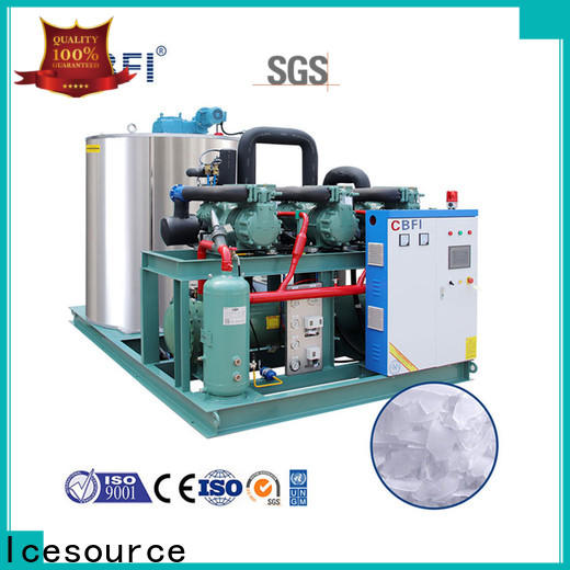 CBFI stores flake ice factory long-term-use for water pretreatment