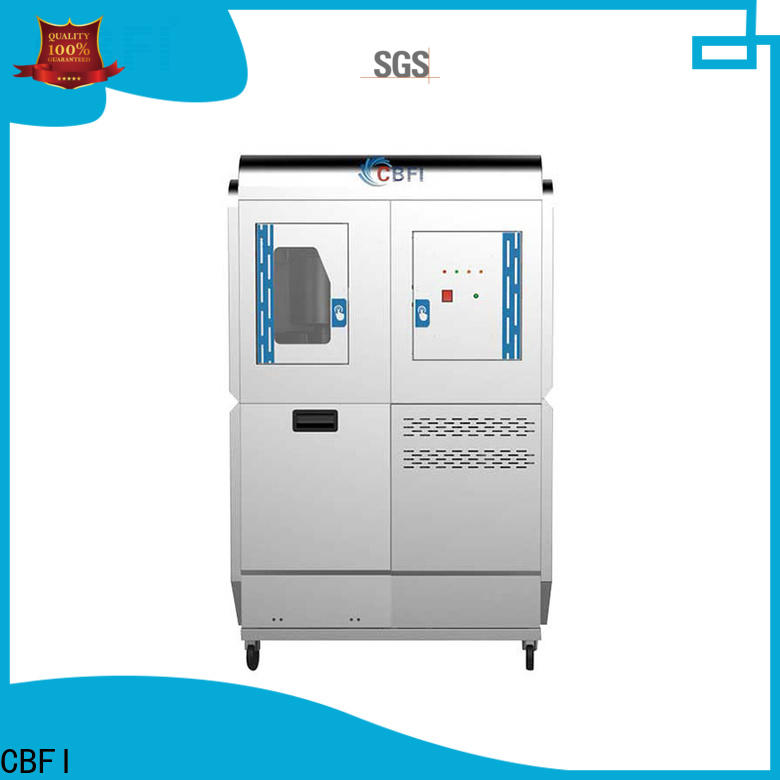 CBFI automatic camping ice maker factory price for cooling use