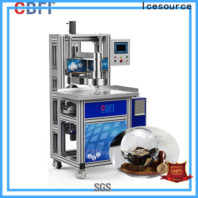 easy to use ice machine filter kit product plant for ball ice making