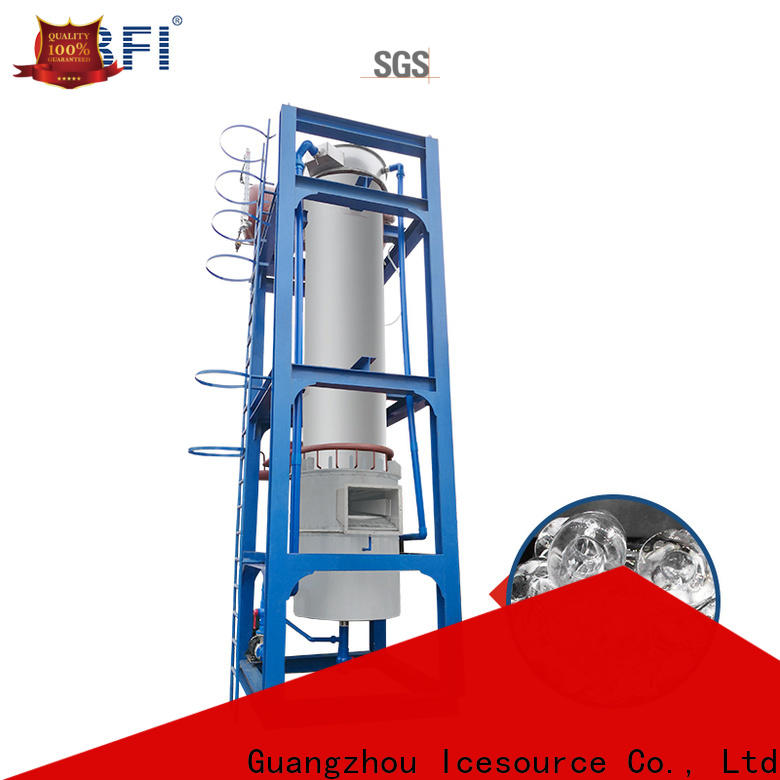 CBFI ice maker line grab now for concrete cooling