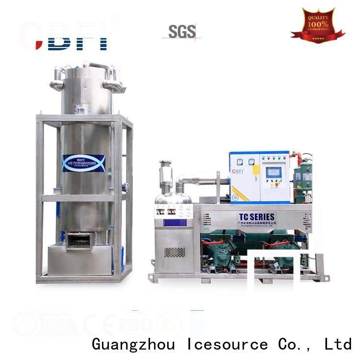 CBFI widely used ice block machine owner for aquatic goods