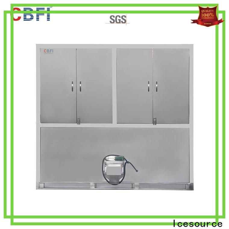 CBFI capacity cube ice maker machine free design for vegetable storage