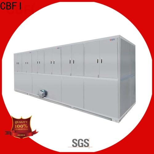 CBFI bars ice cube machine for sale manufacturer for fruit storage