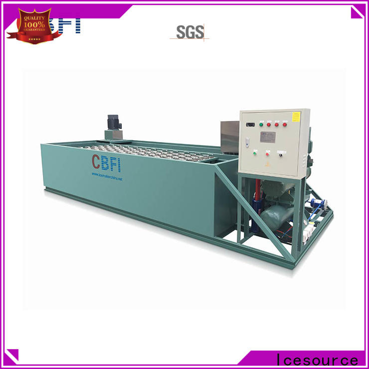 CBFI clear ice plant bulk production for cooling