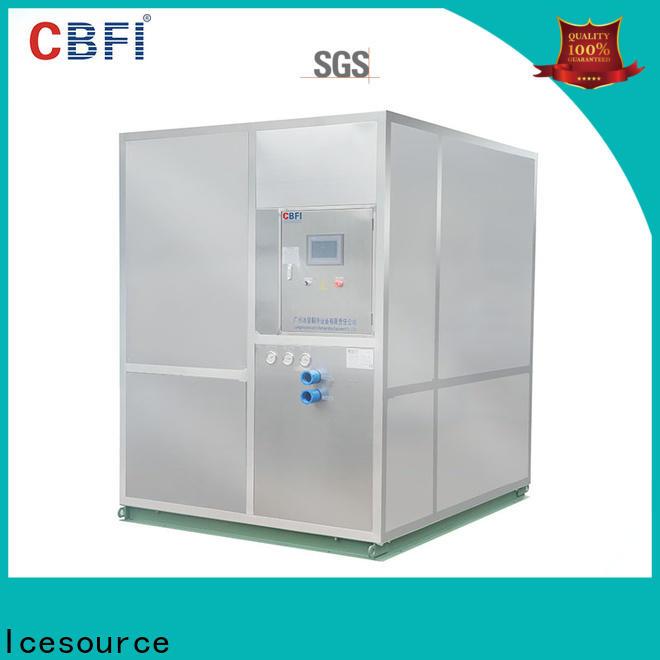 CBFI high reputation large ice machine in china for ball ice making