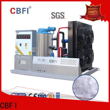 CBFI fine- quality flake ice maker free design for supermarket
