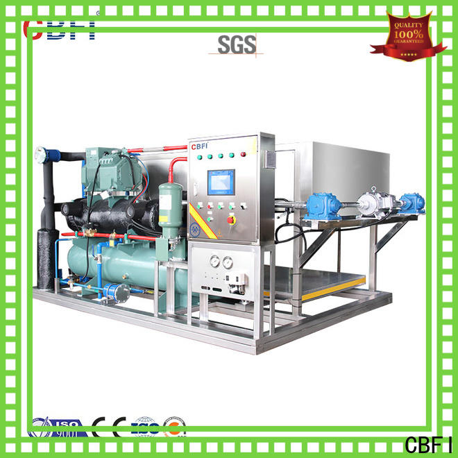 widely used built in ice machine abi150 supplier for fruit storage