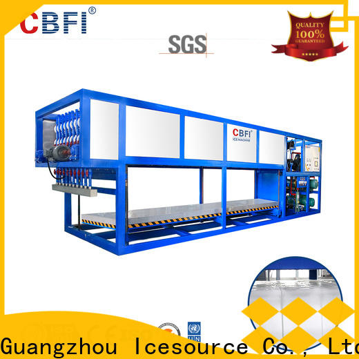 CBFI day flake ice machine for sale free design for fruit storage