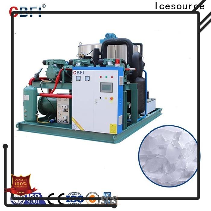 CBFI fish flake ice machine for sale long-term-use for water pretreatment
