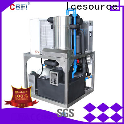 CBFI ice making machine owner for ice sculpture