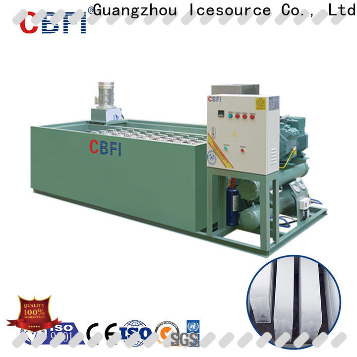 CBFI high-quality ice tube maker machine price in china for cooling