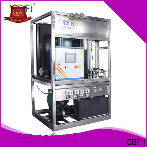CBFI widely used ice block machine owner for ice making