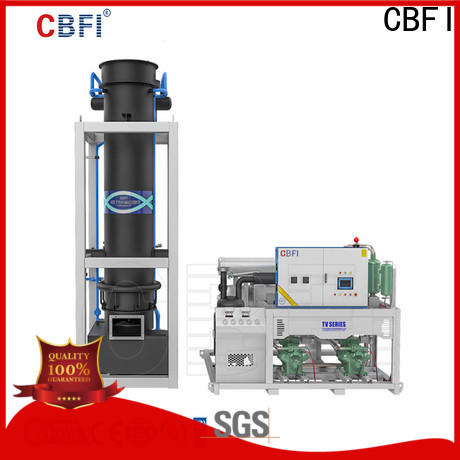 CBFI high-quality ice making machine owner for ice making