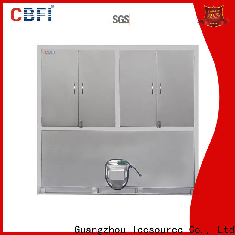 CBFI controller ice cube machine for sale free design for vegetable storage