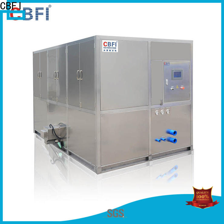 CBFI maker cube ice maker factory for vegetable storage