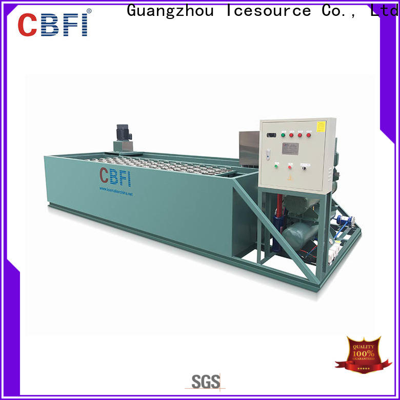 CBFI clear ice factory manufacturing for summer