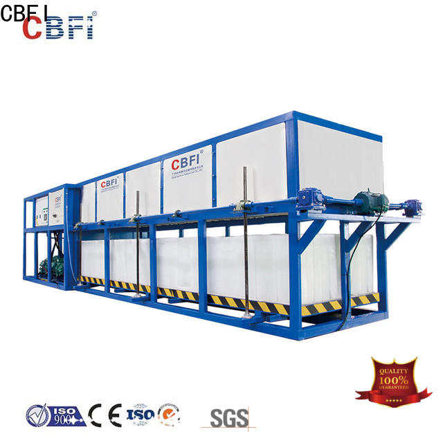 CBFI per commercial ice machine reviews factory for fruit storage