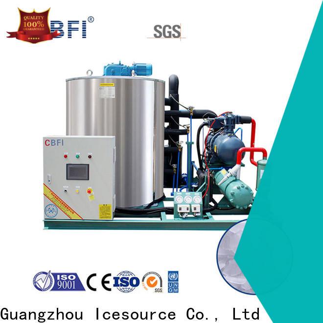 CBFI making flake ice factory free design for water pretreatment