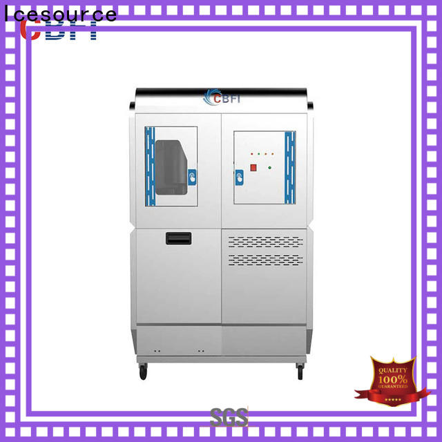 CBFI food ice machine franchise marketing for fish market