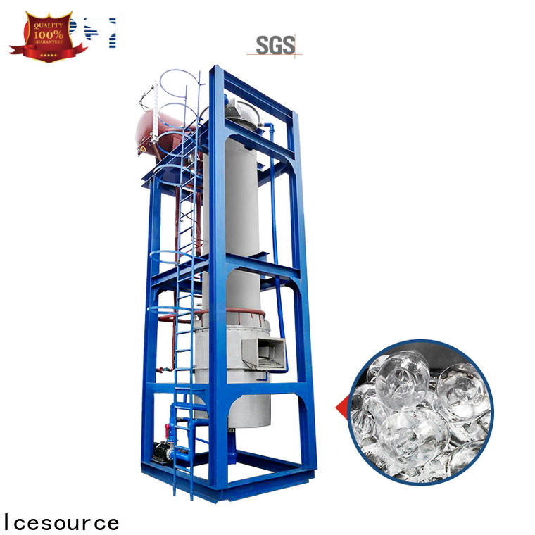 professional portable ice maker machine ammonia marketing for concrete cooling