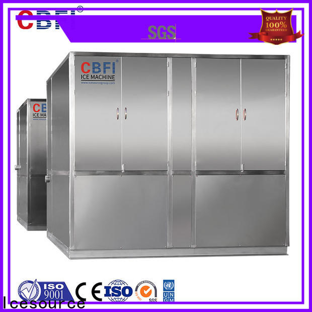 CBFI clean large ice machine free quote for ice bar
