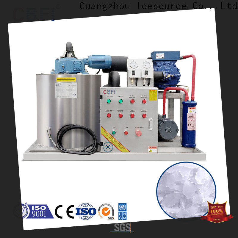 CBFI first-rate flake ice machine for cooling use