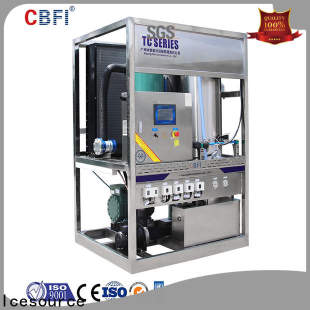 commercial tube ice machine manufacturer for restaurant