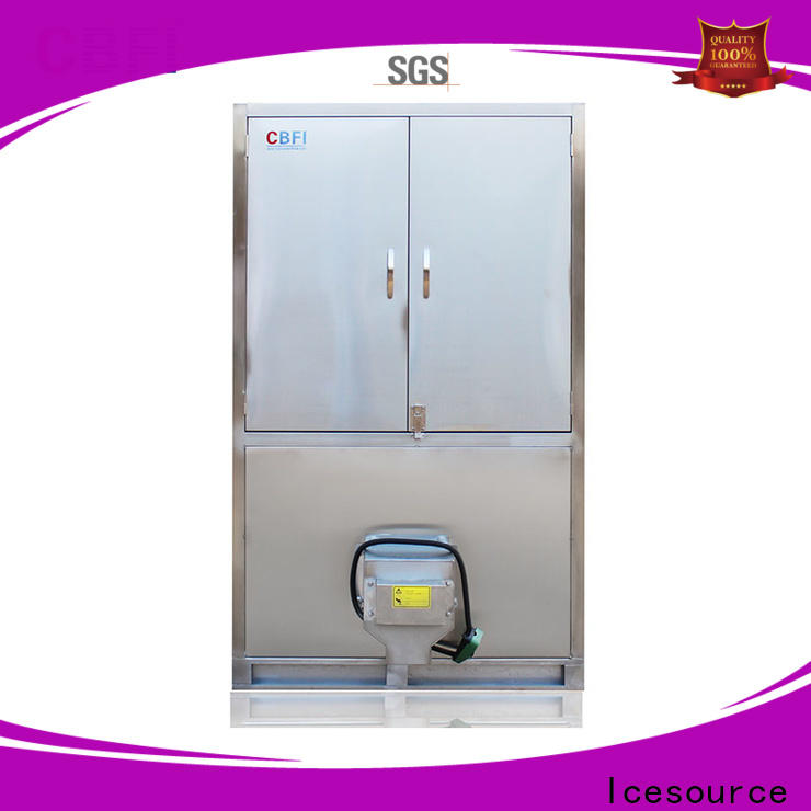 CBFI large capacity industrial ice cube machine manufacturer for vegetable storage
