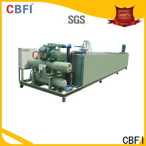 CBFI clear industrial ice maker free design for cooling