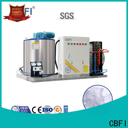 CBFI commercial flake ice making machine price order now for cooling use