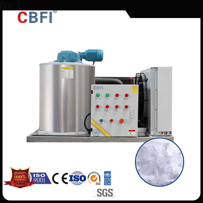 CBFI fine- quality flake ice machine commercial certifications for supermarket