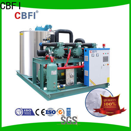 CBFI making flake ice makers commercial certifications for water pretreatment