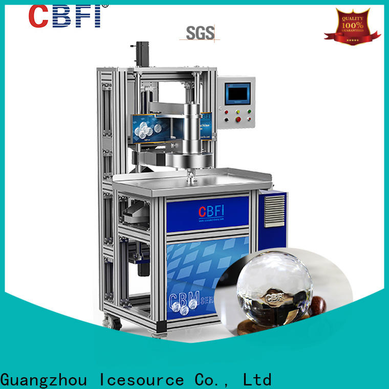CBFI product single ice maker bulk production for whiskey