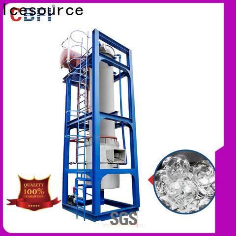 CBFI ammonia ice cube tube bulk production for concrete cooling