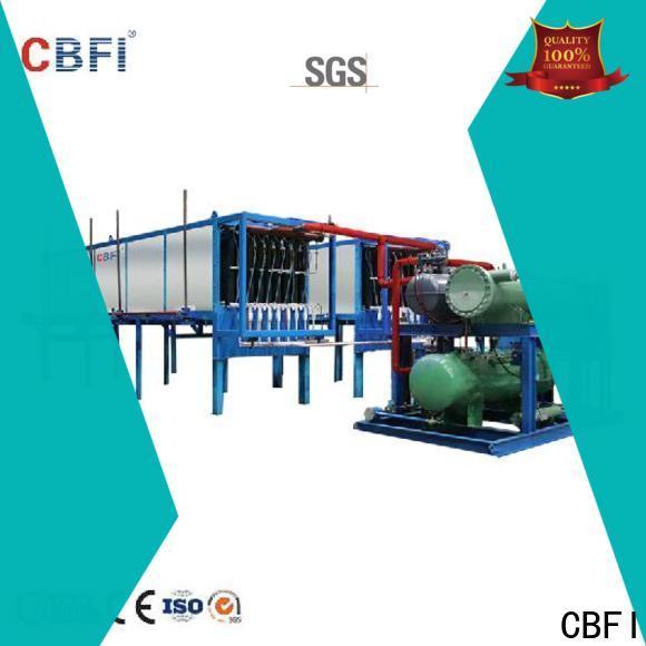 CBFI high reputation ice maker plant manufacturer for freezing