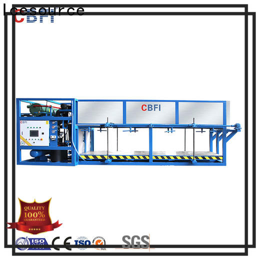 CBFI block ice maker with drain pump supplier for fruit storage