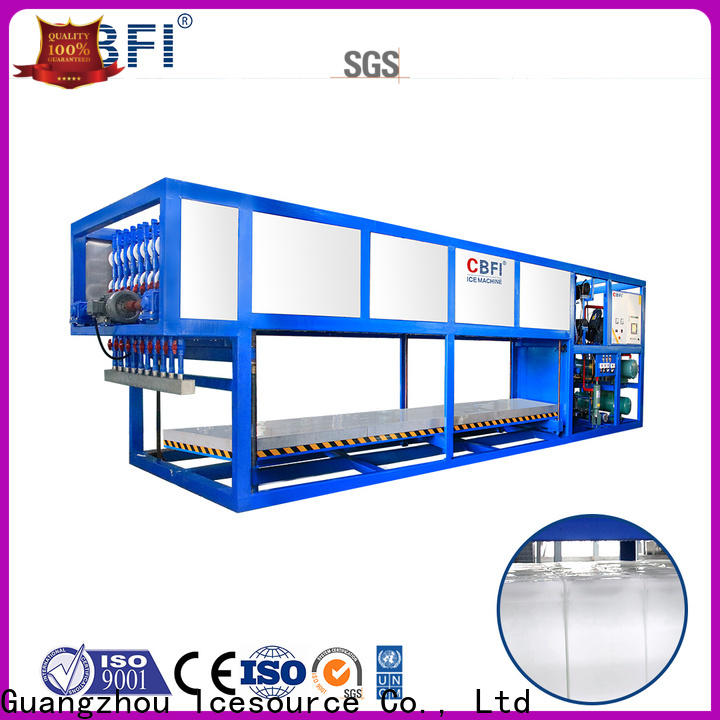 CBFI large capacity commercial ice machine reviews factory price for freezing