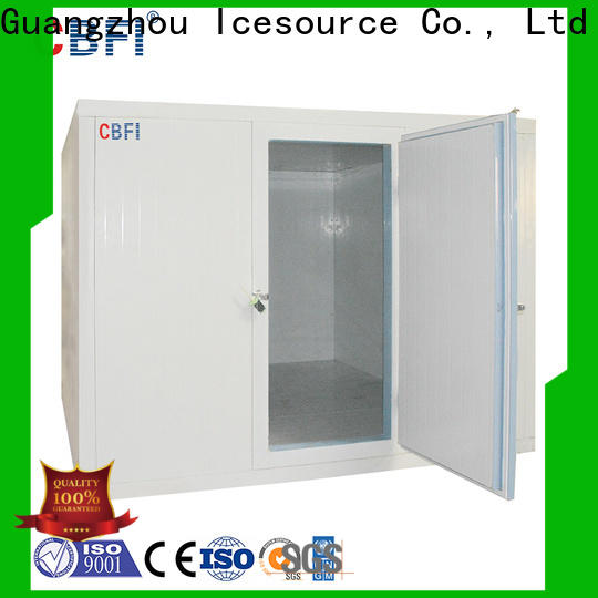 CBFI cold rooms and freezer rooms range for freezing