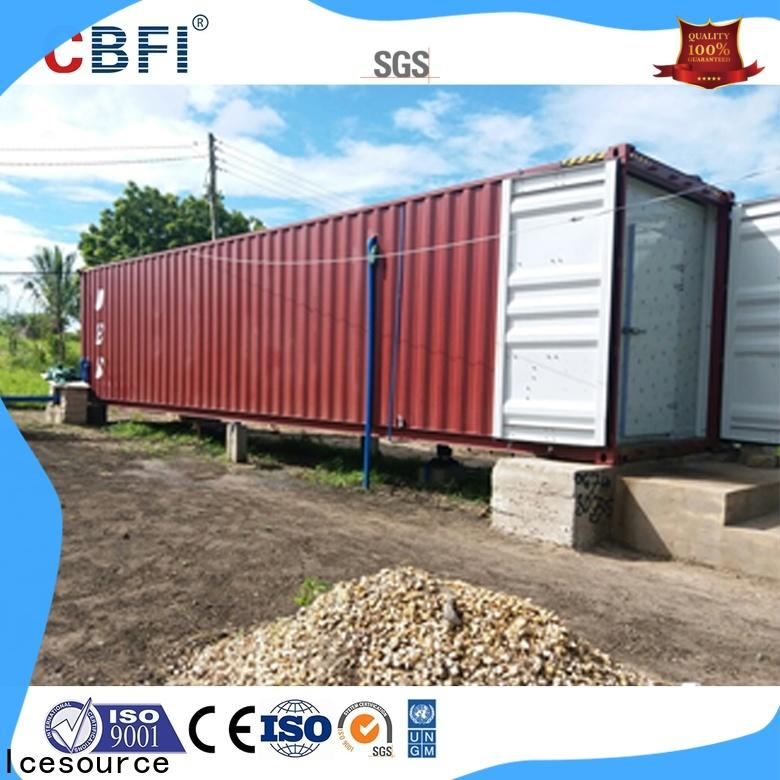 CBFI build a cold room free design for vegetable storage