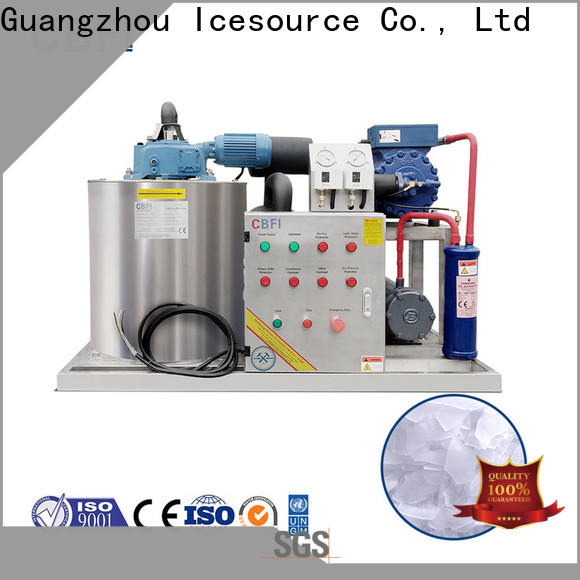 CBFI good-package flake ice machine commercial supplier for water pretreatment