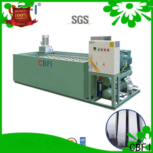 CBFI clear sonic ice machine in china for summer